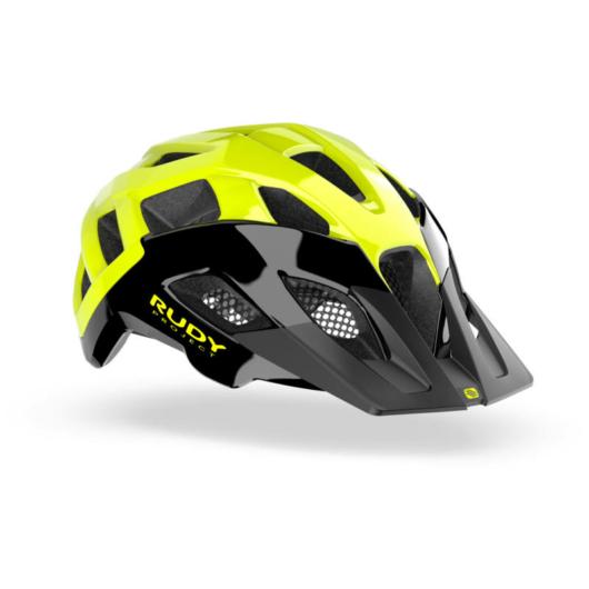 Rudy Project CROSSWAY kerékpáros sisak, citromsárga - L (59-61)