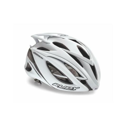 Rudy Project RACEMASTER kerékpáros sisak, fehér - L (59-61)