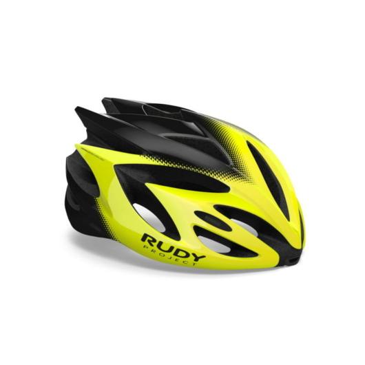 Rudy Project RUSH kerékpáros sisak, citromsárga - L (59-62)