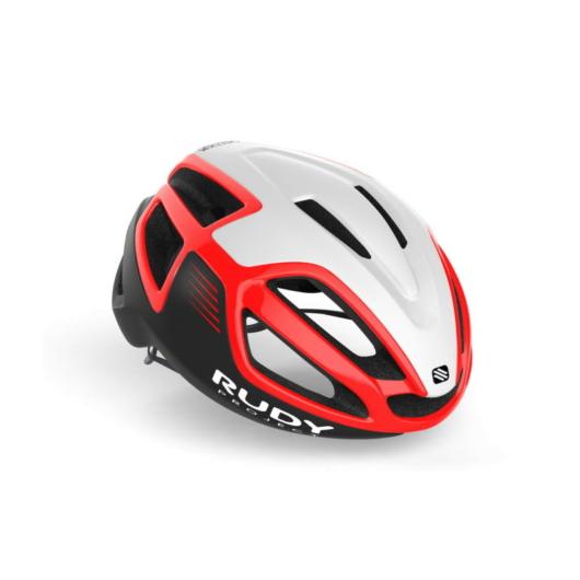 Rudy Project SPECTRUM kerékpáros sisak, piros/ fehér - S (51-55)