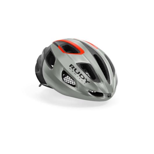 Rudy Project STRYM kerékpáros sisak, világos szürke - L (59-61)