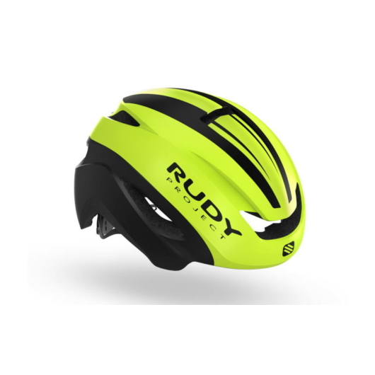 Rudy Project VOLANTIS kerékpáros citromsárga, fehér - S/M (54-58)
