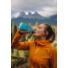 Kép 2/2 - Hydrapak Skyflask puha szilikon kézi kulacs, 500 ml - blue