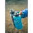 Kép 2/2 - Hydrapak Skyflask It szigetelt, puha szilikon kézi kulacs, 500 ml - szürke