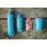 Kép 2/2 - Hydrapak Softflask 250 ml, puha szilikon kulacs - kék